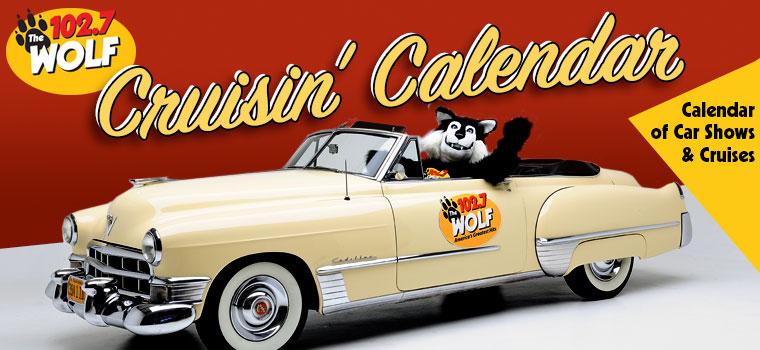WOLF Cruisin' Calendar